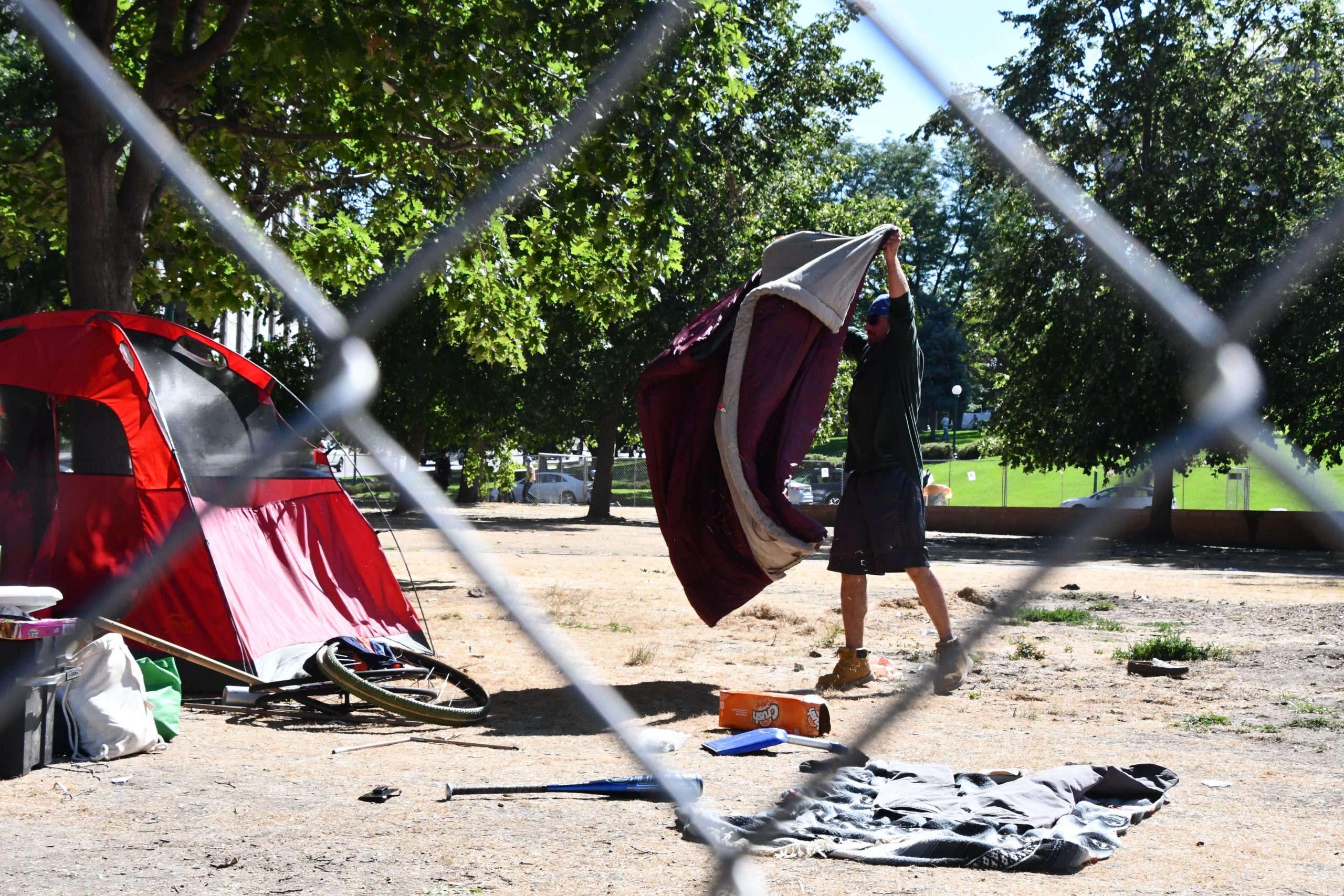 Denver officials didn't give notice before large-scale homeless sweeps in part to avoid protests, federal judge writes