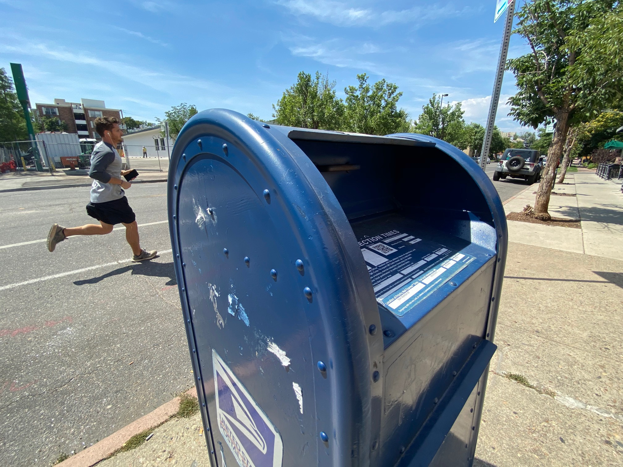 Postmaster general insists it's his 'sacred duty' to ensure election mail on time