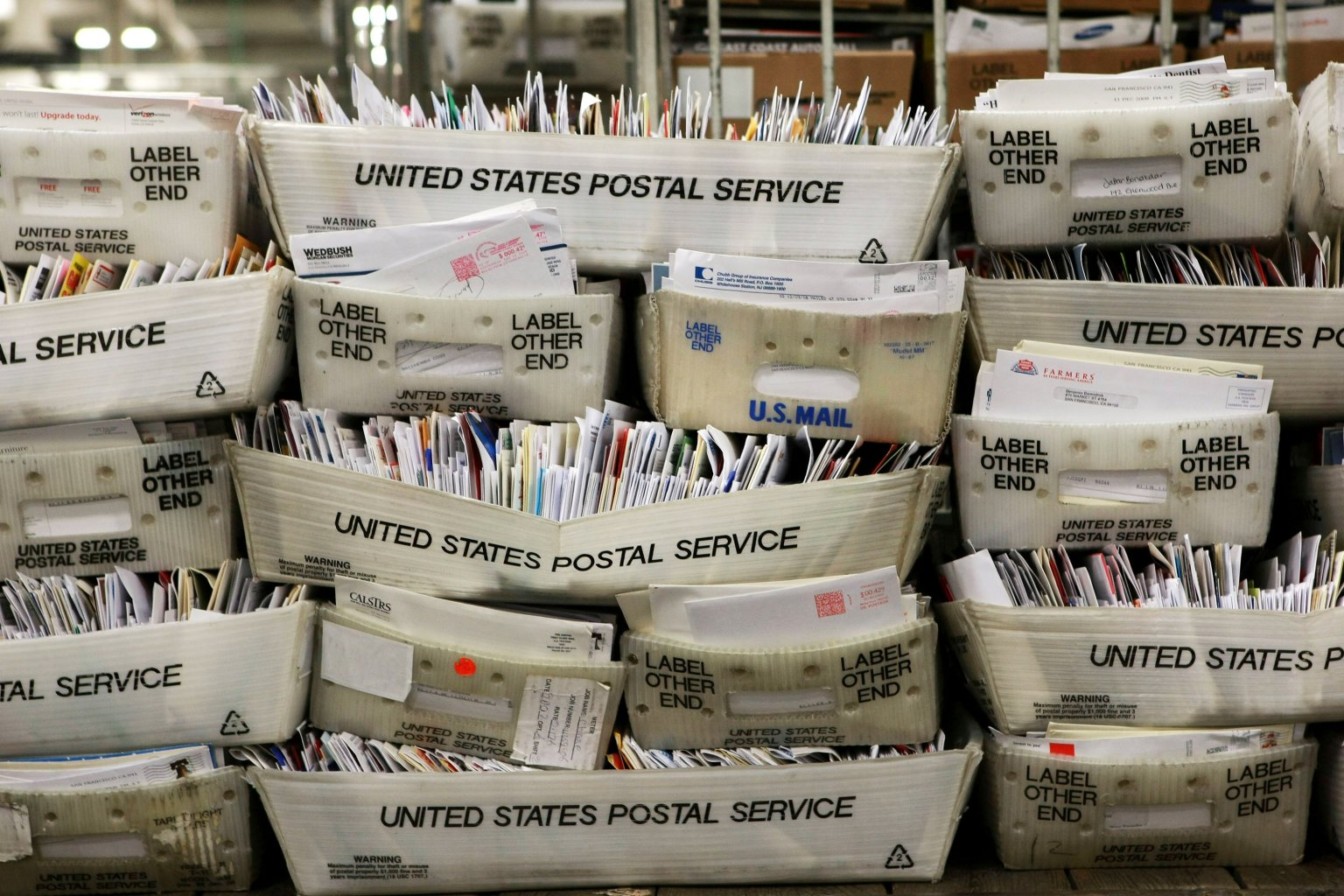 Vast majority of misleading Postal Service flyers on mail-in voting already delivered to Coloradans