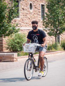 CU Boulder student