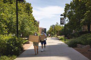 CU Boulder move-in