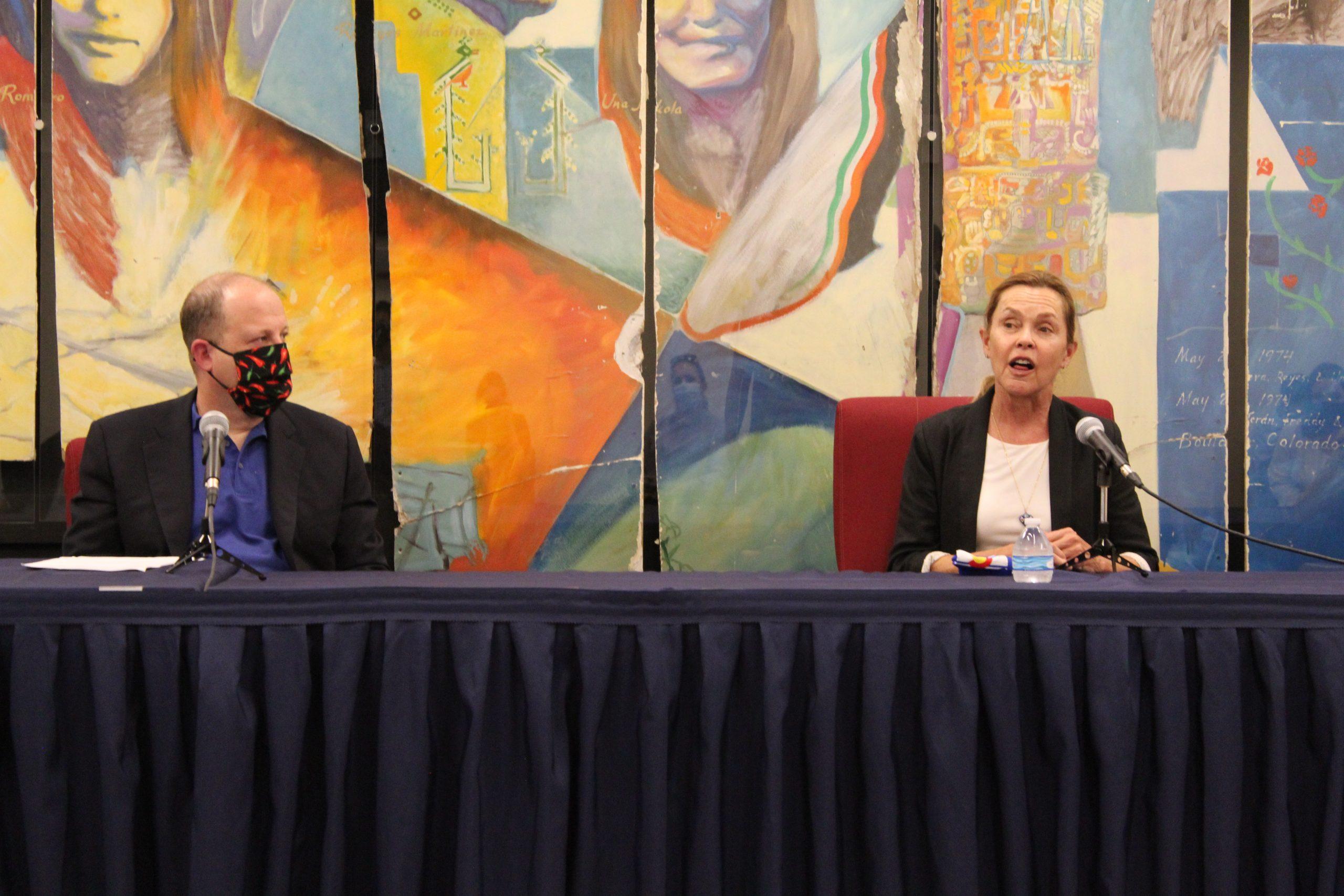 Jared Polis and Betsy Markey
