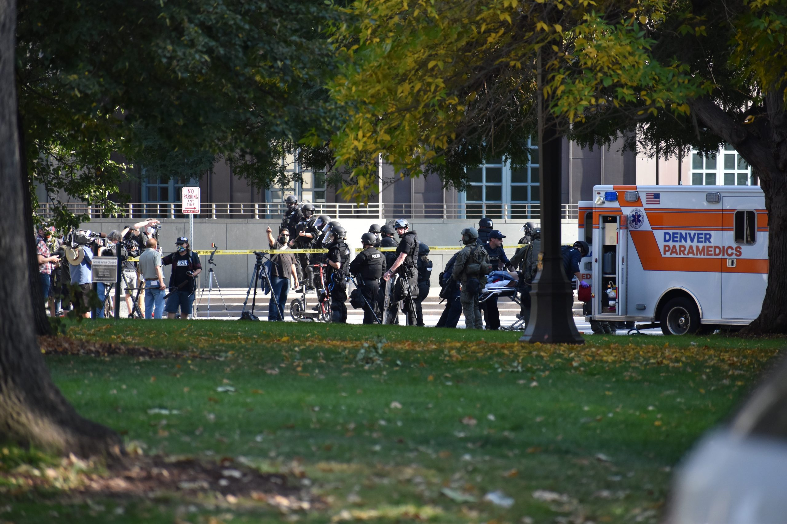Man shot and killed after 'Patriot Muster' in downtown Denver