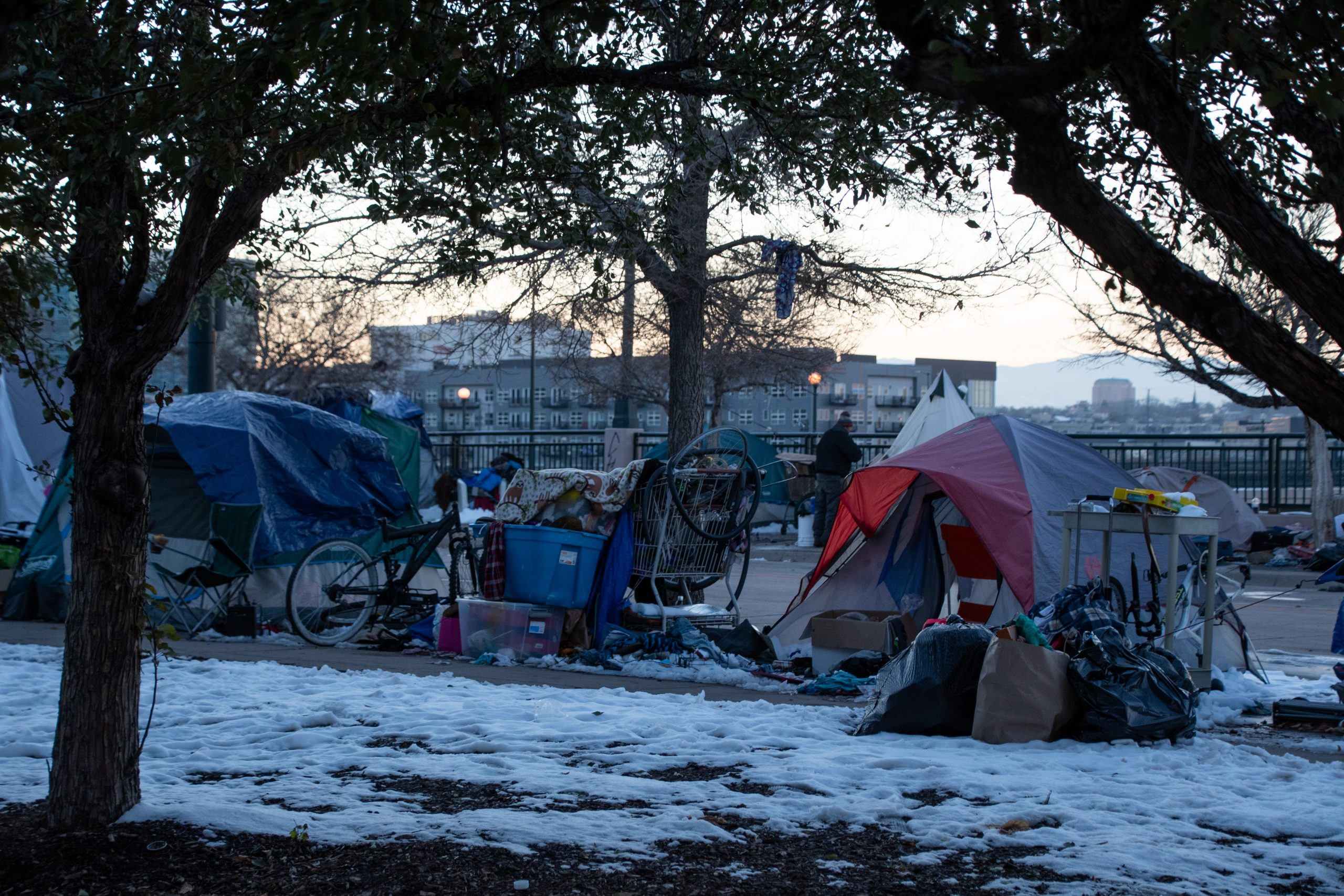 As winter storm descends on the Front Range, community groups and Denver officials ramp up homeless outreach efforts