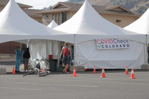 COVID-19 testing site
