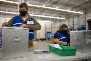 Arapahoe County ballot sorting