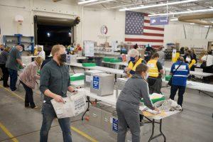 Arapahoe County ballot processing