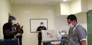 Denver jail voting