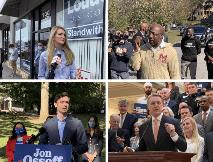 Georgia's runoff elections for U.S. Senate lure big PACs ready to spend cash