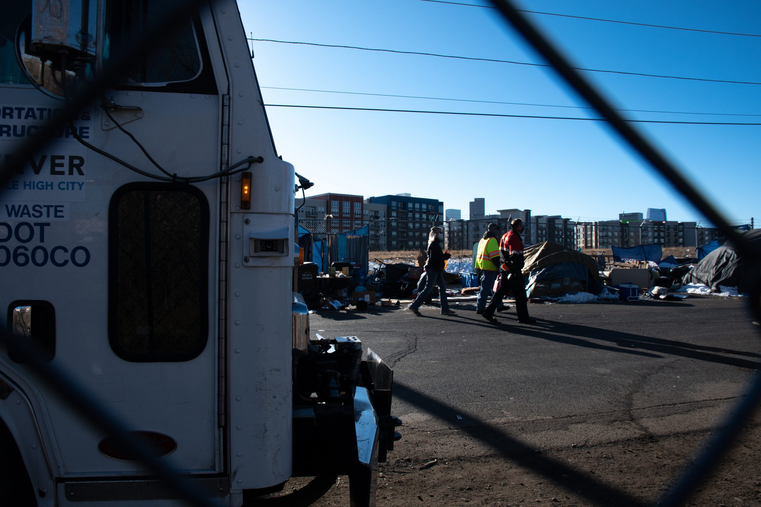 Homeless camp sweeps run counter to CDC guidelines. Denver officials stand by their decisions.