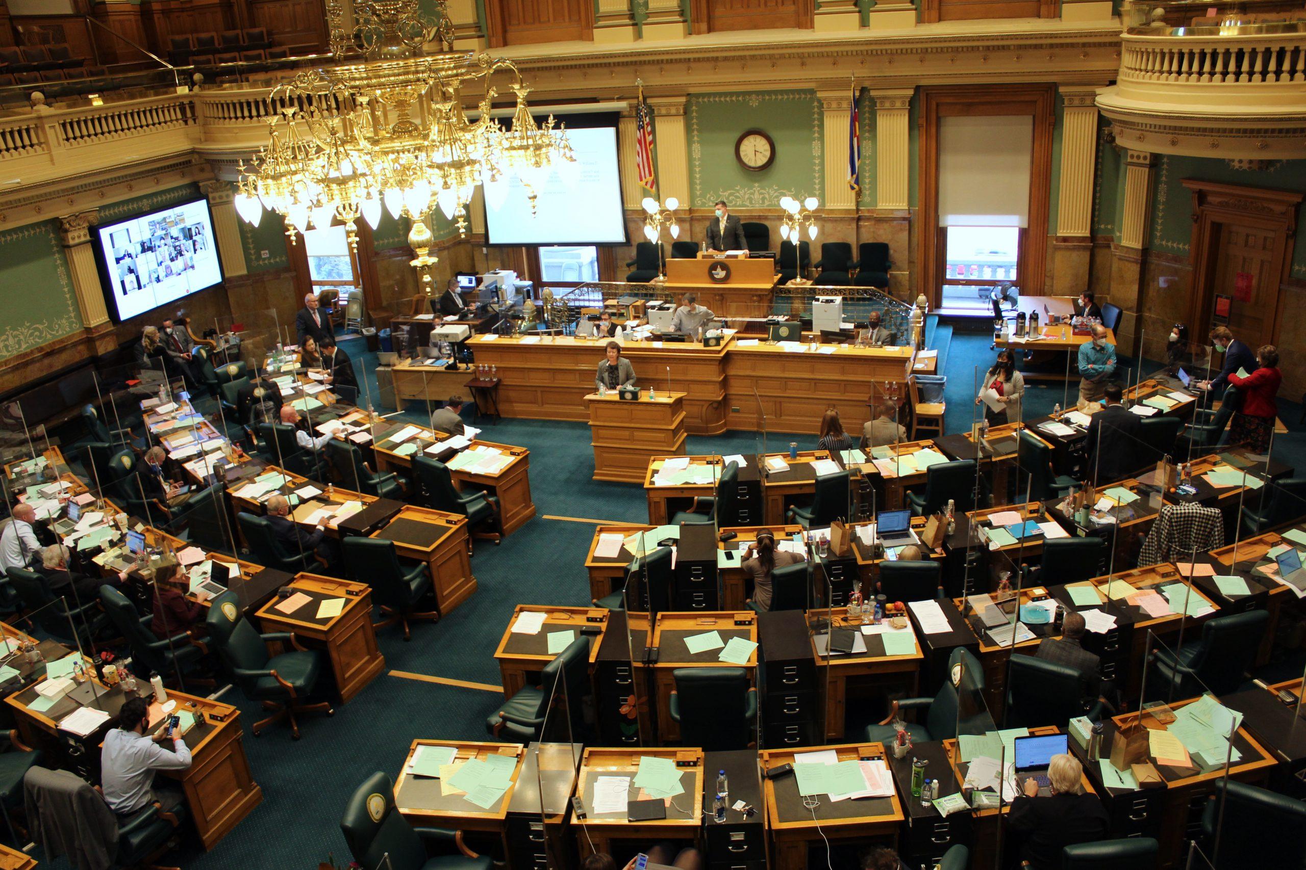 Colorado House chamber