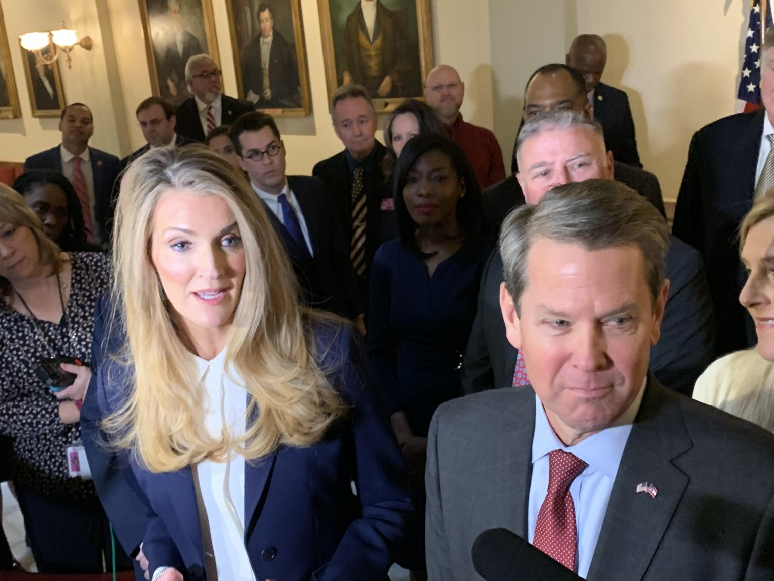 Conservative cred, Trump fealty touted by Loeffler in struggle to hold her seat and the Senate