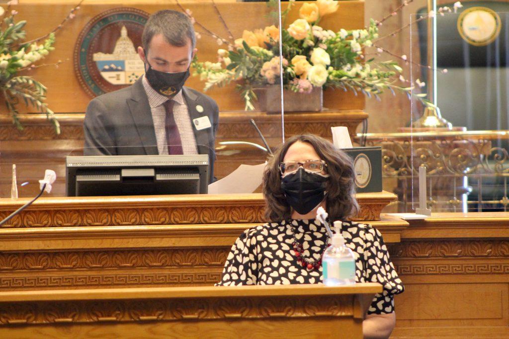 Majority Leader Daneya Esgar