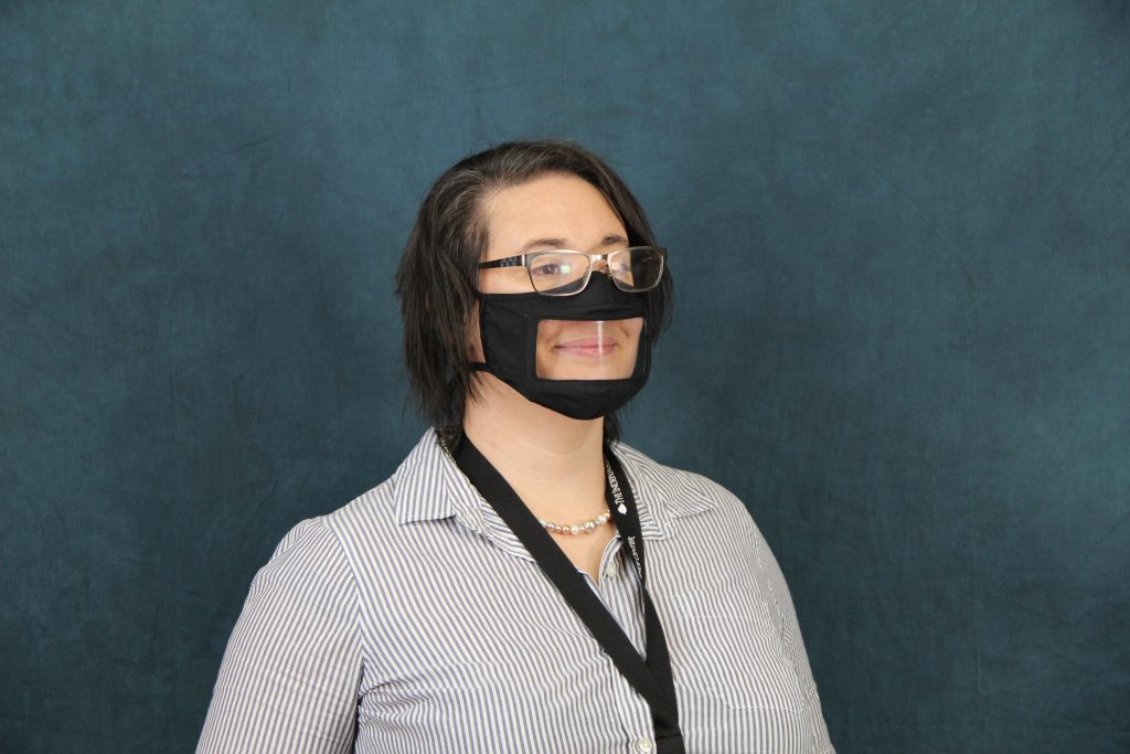 accessible mask
