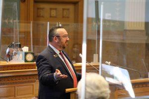 House Minority Leader Hugh McKean