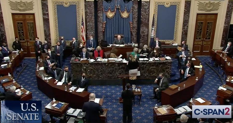 Senate acquits Trump in his second impeachment trial; 7 GOPs vote to convict