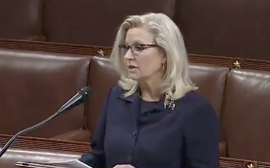 Liz Cheney ousted from U.S. House GOP leadership for rejecting Trump's 'big lie'
