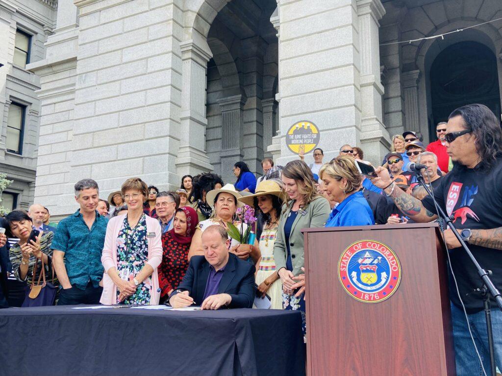 SB-87 bill signing