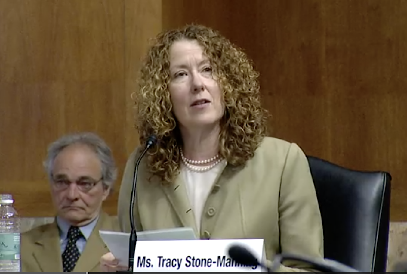 Public lands pick Tracy Stone-Manning fends off objections from U.S. Senate Republicans