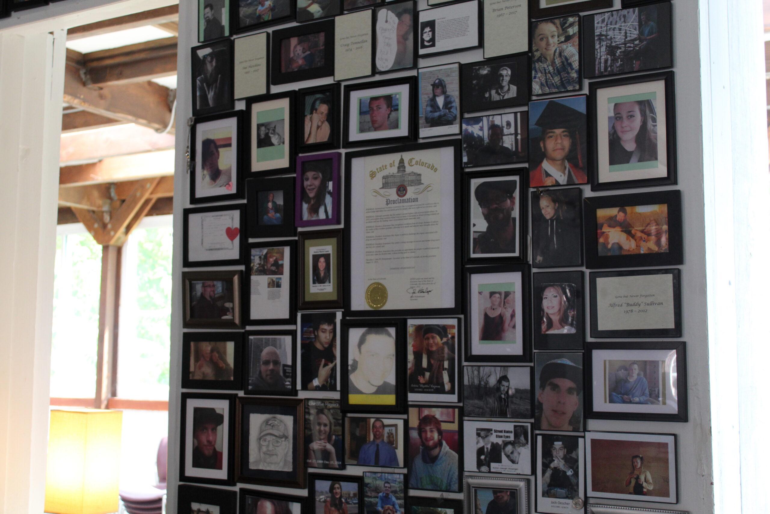 HRAC photo wall